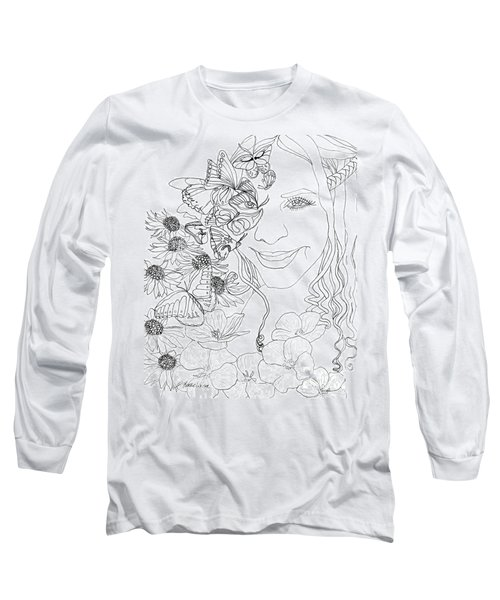Butterfly Runner Long Sleeve T-Shirt