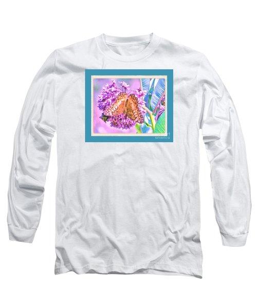 Butterfly Summer 2 Long Sleeve T-Shirt