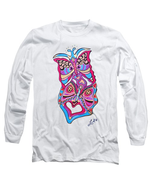 Butterfly Totem Long Sleeve T-Shirt