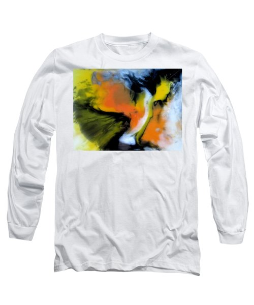Butterfly Wings Long Sleeve T-Shirt by Mary Kay Holladay