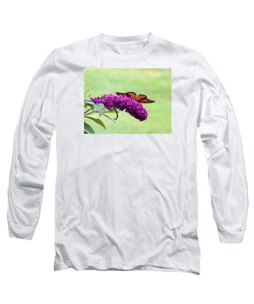 Butterfly Wings Long Sleeve T-Shirt by Teresa Schomig