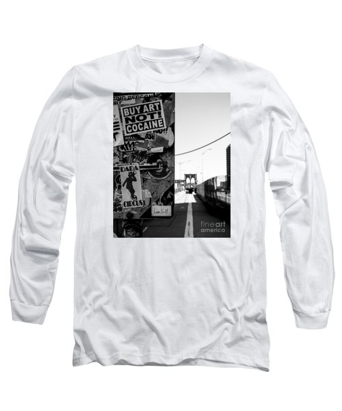 Buy Art Not Cocaine Long Sleeve T-Shirt