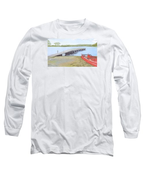 By The Lake Long Sleeve T-Shirt by Joanne Perkins