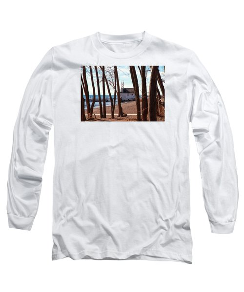 Long Sleeve T-Shirt featuring the photograph By The Lake by Valentino Visentini