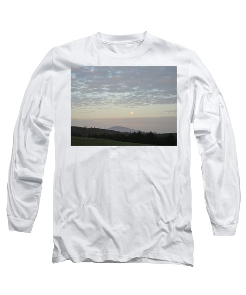 By The Rising Of The Moon Long Sleeve T-Shirt by Suzanne Oesterling
