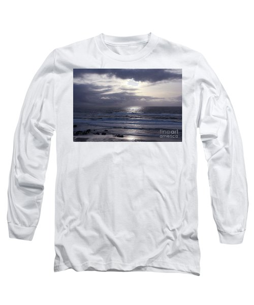 By The Silvery Light Long Sleeve T-Shirt by Sheila Ping