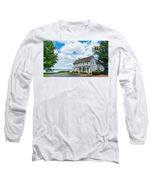 By The Water In Oxford Md Long Sleeve T-Shirt