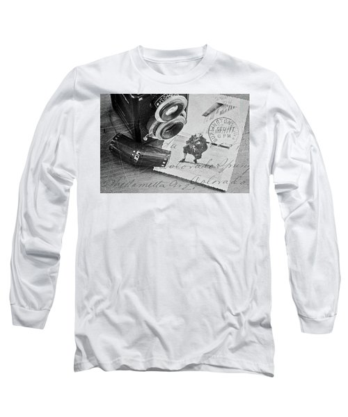 Bygone Memories Long Sleeve T-Shirt by Patrice Zinck
