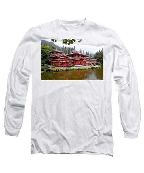 Byodo-in Temple Oahu Long Sleeve T-Shirt