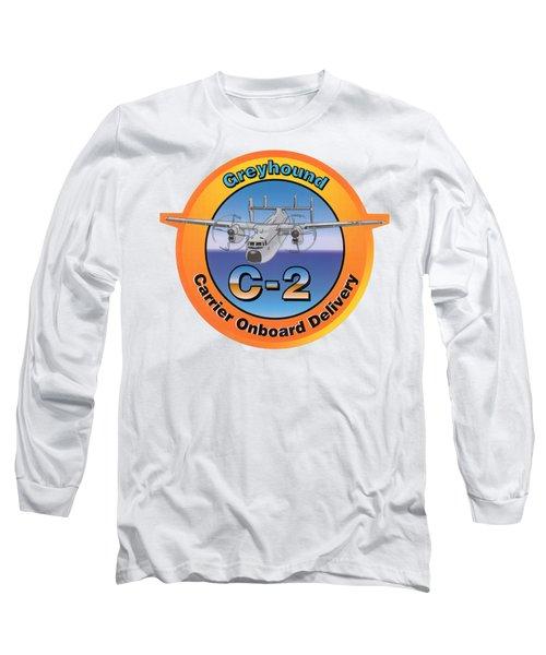 C-2 Greyhound Long Sleeve T-Shirt