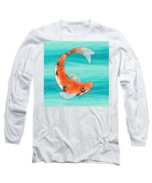 C Is For Cal The Curious Carp Long Sleeve T-Shirt