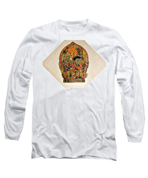 C3po Star Wars Afrofuturist Collection Long Sleeve T-Shirt