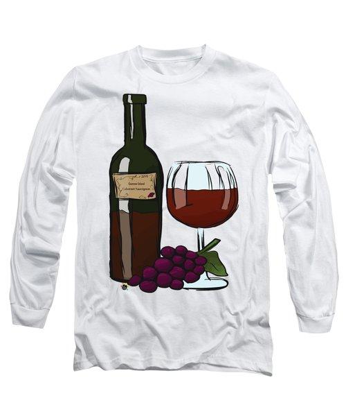Cabernet Sauvignon Long Sleeve T-Shirt