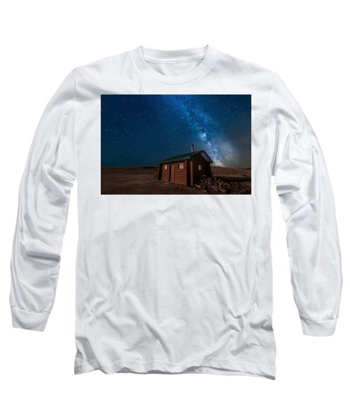 Cabin In The Night Long Sleeve T-Shirt