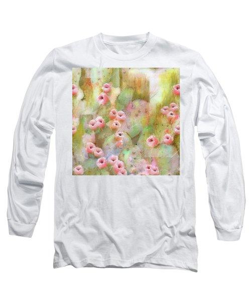 Cactus Rose Long Sleeve T-Shirt