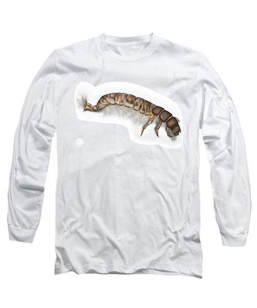 Caddisfly Larva Nymph Psychomiidae Hydropsyche Pellucidula -  Long Sleeve T-Shirt