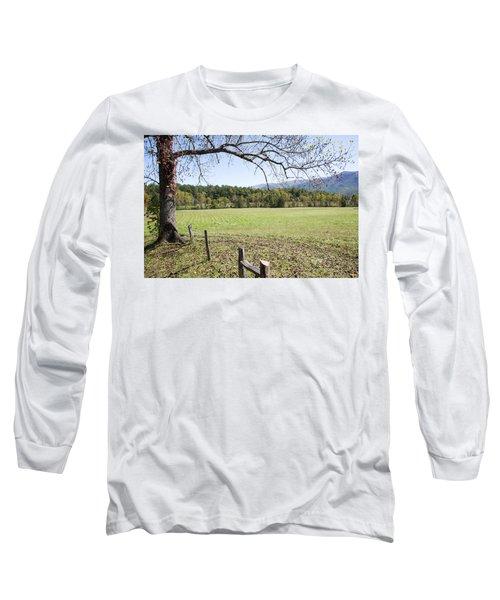 Cades Fence Long Sleeve T-Shirt by Ricky Dean
