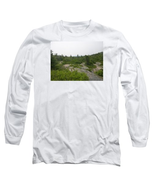 Cadillac Mountain Long Sleeve T-Shirt by Helen Haw