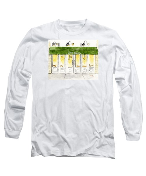 Cafe' Amrita  Long Sleeve T-Shirt