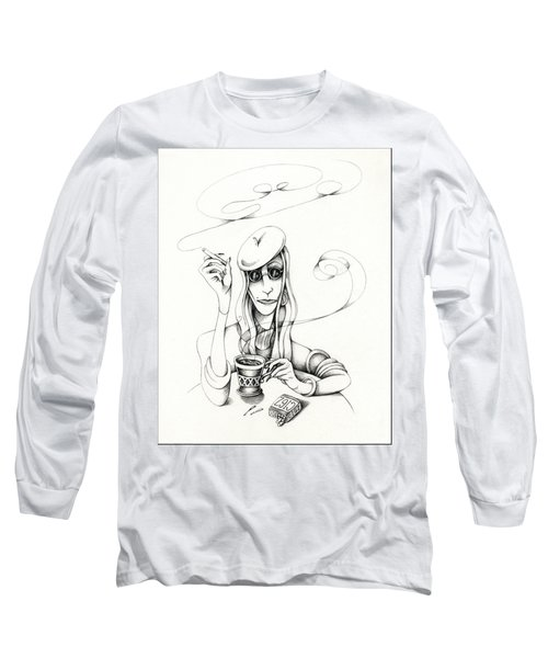 Cafe Lady Long Sleeve T-Shirt