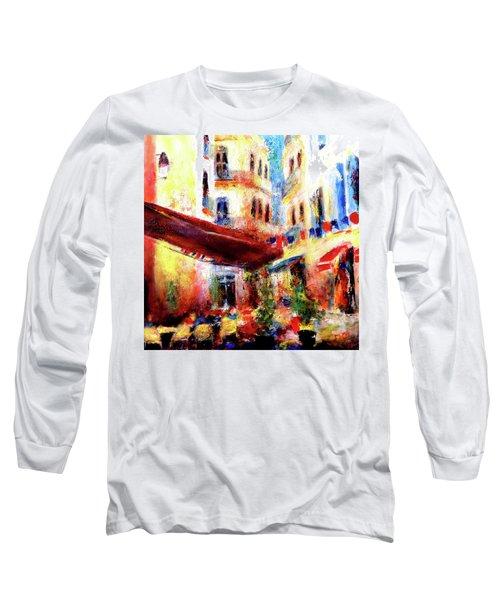 Cafe Scene Long Sleeve T-Shirt