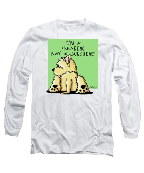 Cairn Terrier Sunshine Long Sleeve T-Shirt