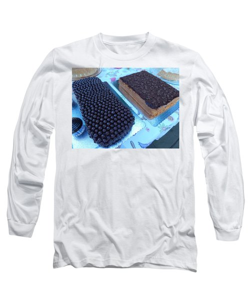 Long Sleeve T-Shirt featuring the photograph Cake And Dreams by Beto Machado
