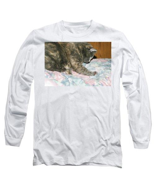 Long Sleeve T-Shirt featuring the photograph Cal-1 by Ellen Lentsch