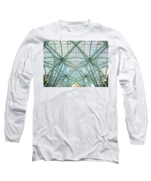 Calatrava In Toronto 10 Long Sleeve T-Shirt by Randall Weidner