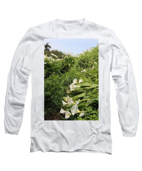 Long Sleeve T-Shirt featuring the photograph Cali Can You Hear Me by Marie Neder
