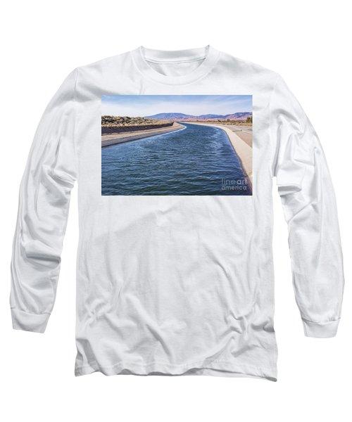 California Aqueduct S Curves Long Sleeve T-Shirt