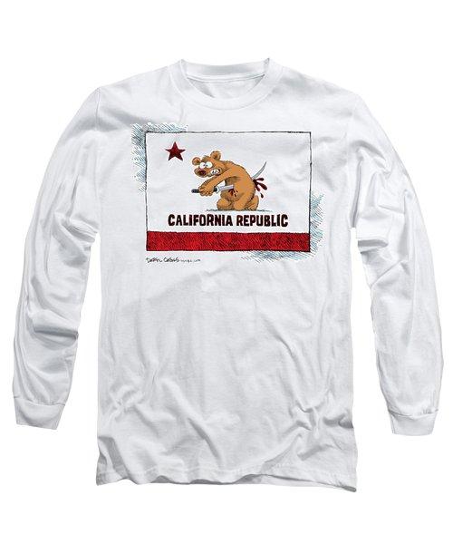 California Budget Harakiri Long Sleeve T-Shirt