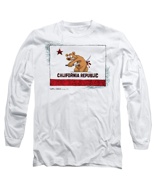 California Budget Harakiri Long Sleeve T-Shirt