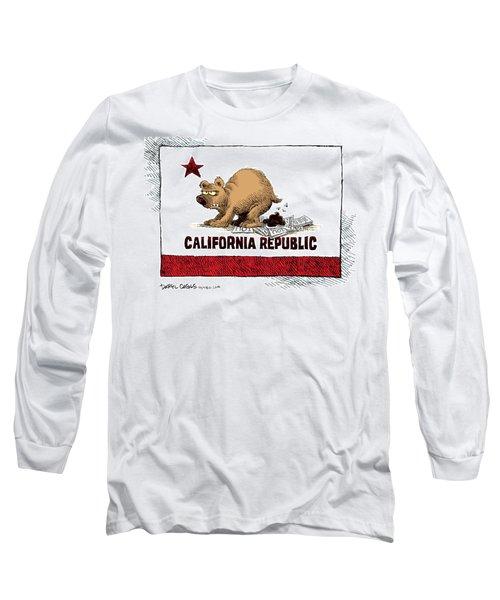 California Budget Iou Long Sleeve T-Shirt