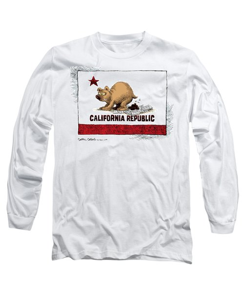 California Budget Iou Long Sleeve T-Shirt