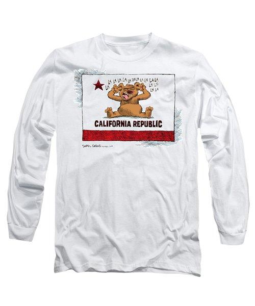 California Budget La La La Long Sleeve T-Shirt