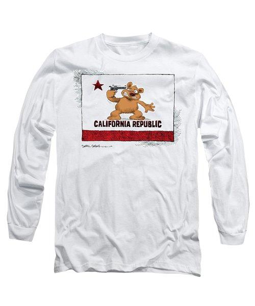 California Budget Suicide Long Sleeve T-Shirt
