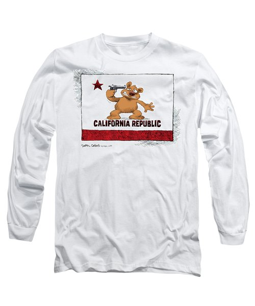 California Budget Suicide Long Sleeve T-Shirt