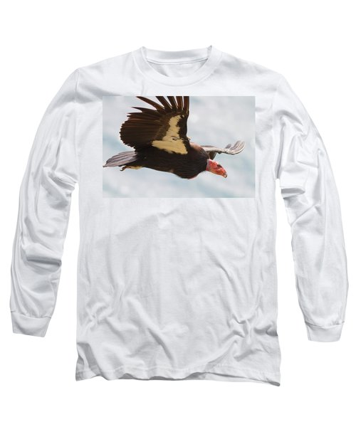 California Condor At Big Sur Long Sleeve T-Shirt