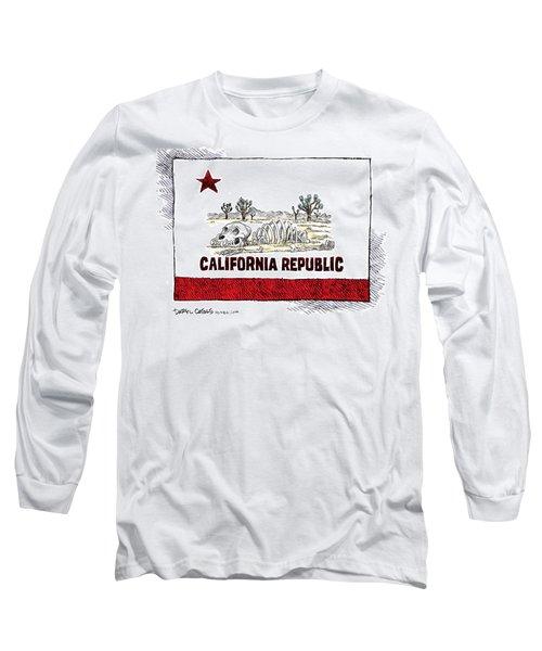 California Drought Long Sleeve T-Shirt