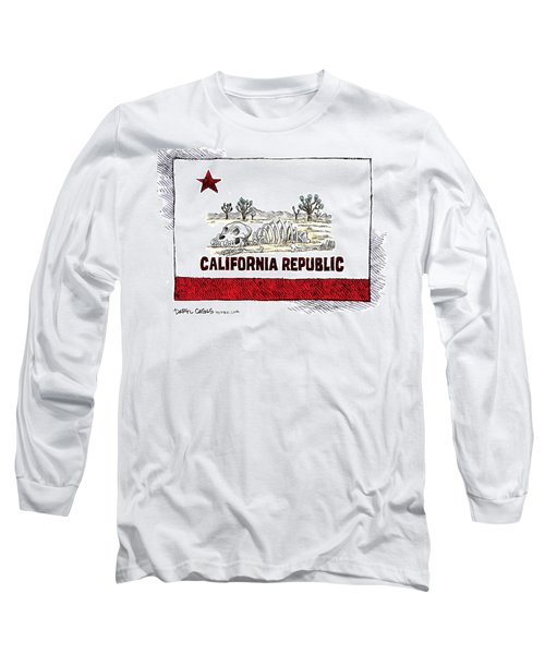 California Drought Long Sleeve T-Shirt