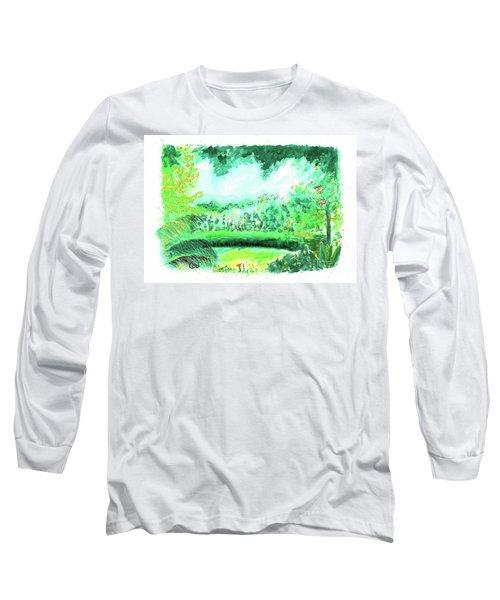 California Garden Long Sleeve T-Shirt