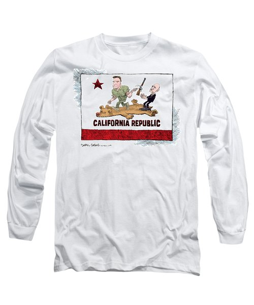 California Governor Handoff Long Sleeve T-Shirt