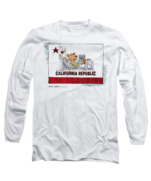 California Is Sick Long Sleeve T-Shirt