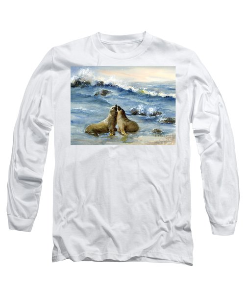 California Sea Lions Long Sleeve T-Shirt