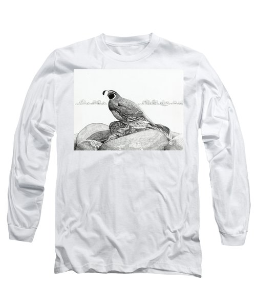 California Valley Quail Long Sleeve T-Shirt
