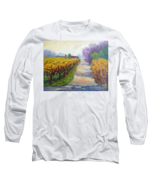 California Wine Country Long Sleeve T-Shirt