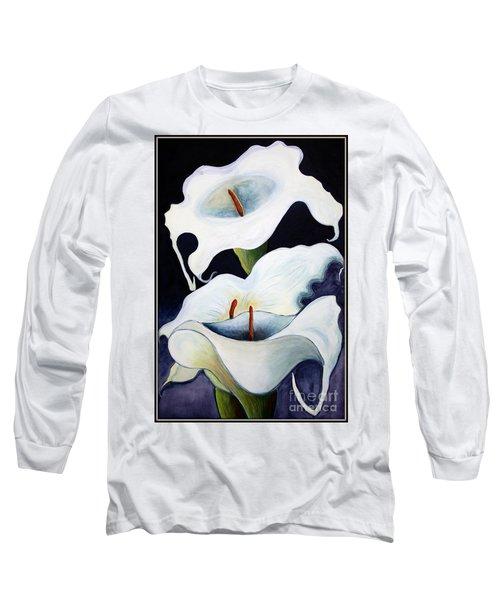 Calla Lilies.. Long Sleeve T-Shirt