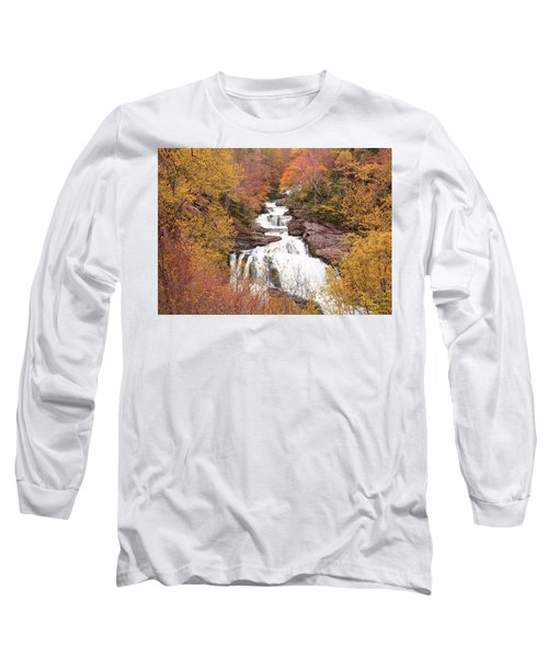 Callasaja Falls- North Carolina 2 Long Sleeve T-Shirt