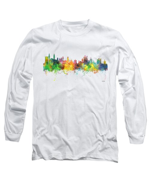 Cambridge England Skyline Long Sleeve T-Shirt